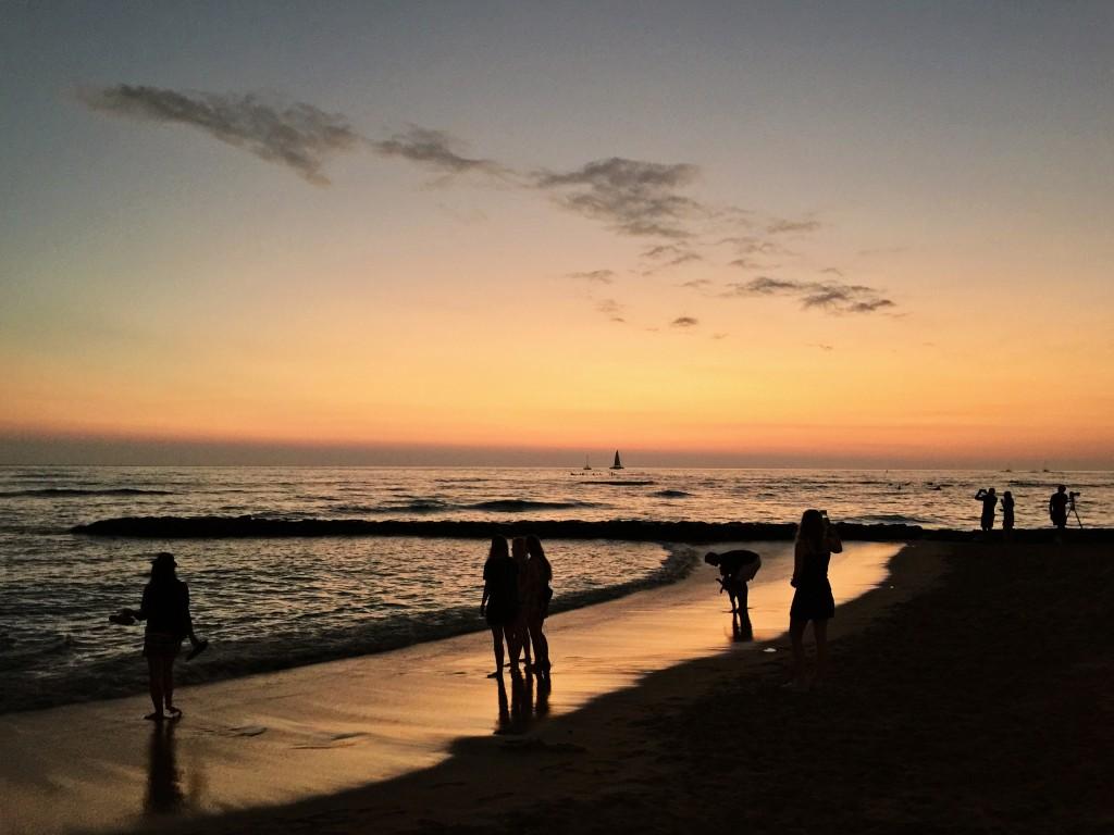 Päike kadus merre mõne minutiga