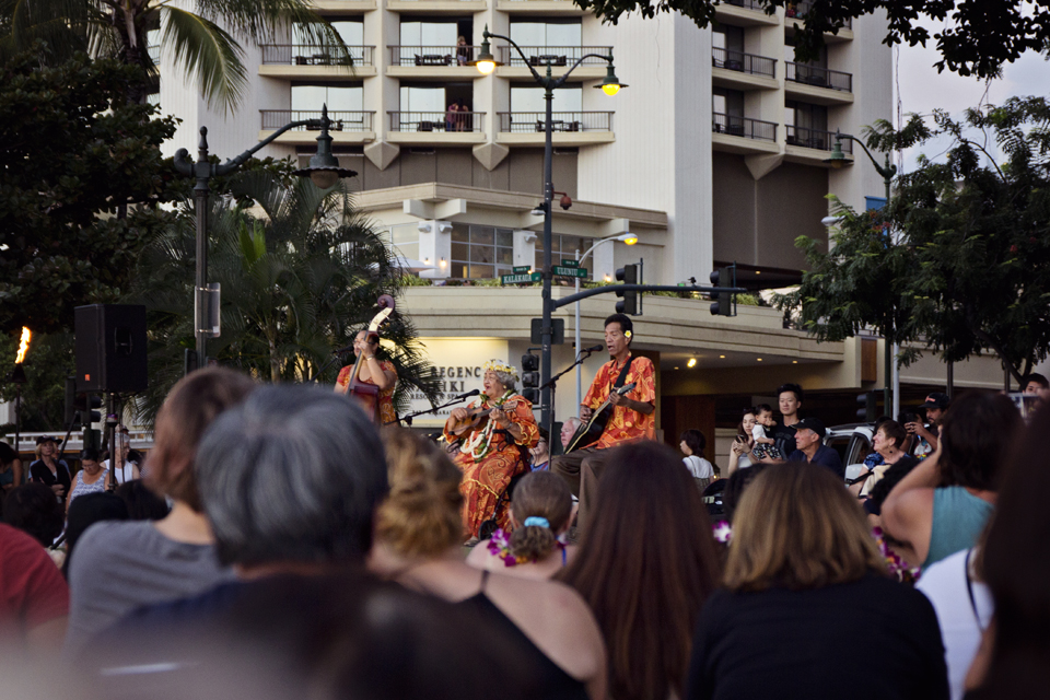 Hawaiid tutvustavad esinejad