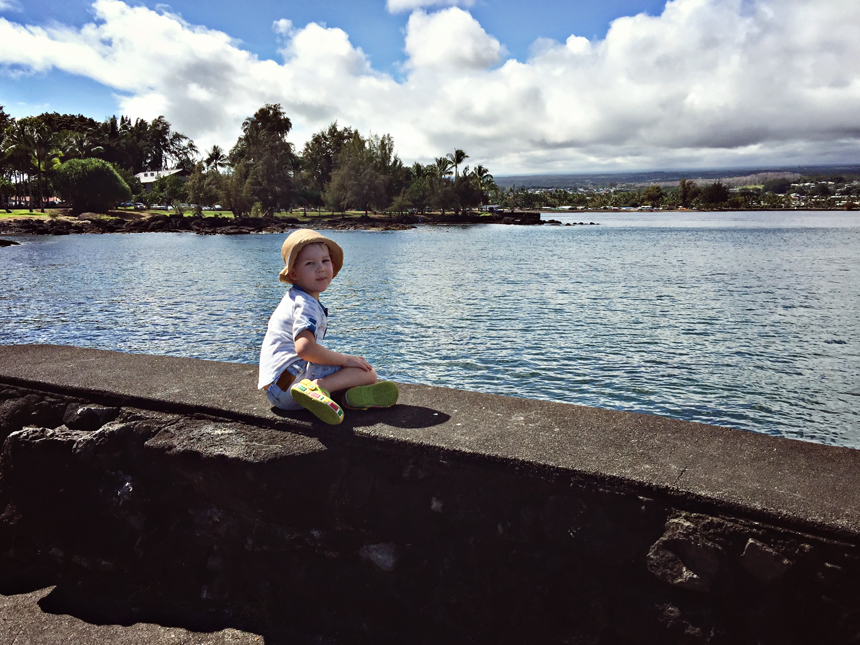 Krennukas naudib kaunist vaadet Coconut Islandi lähedal