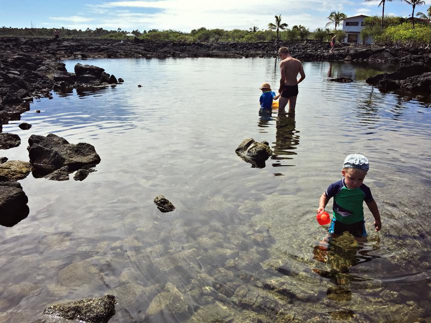 Kapoho tide pools, parim koht snorgeldamiseks