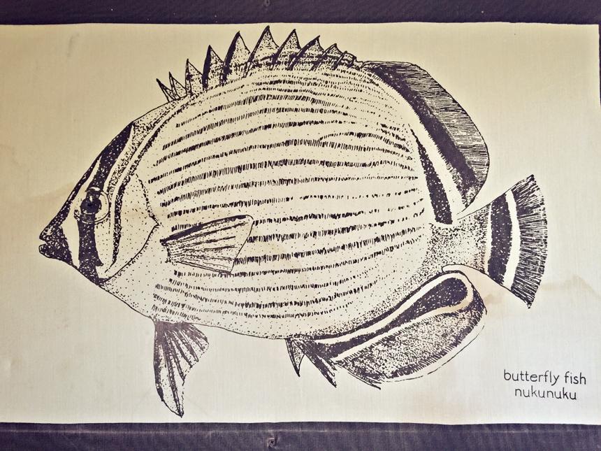 Hawaii keel on üks põnev keel. Selles on vaid 12 tähte, seega palju neid tähti just pole, millest sõnu moodustada :) Meie jaoks kõlavad need üsna naljakalt. Näiteks kupunakane tähendab vanaisa, makamaka väga lähedast sõpra ja näiteks septembrikuu on Kepakemapa. Ühe kala (Picasso triggerfish (State Fish)) nimi on eriti vahva - Humuhumunukunukuapua'a :)